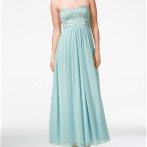 Speechless Antique Blue Dress